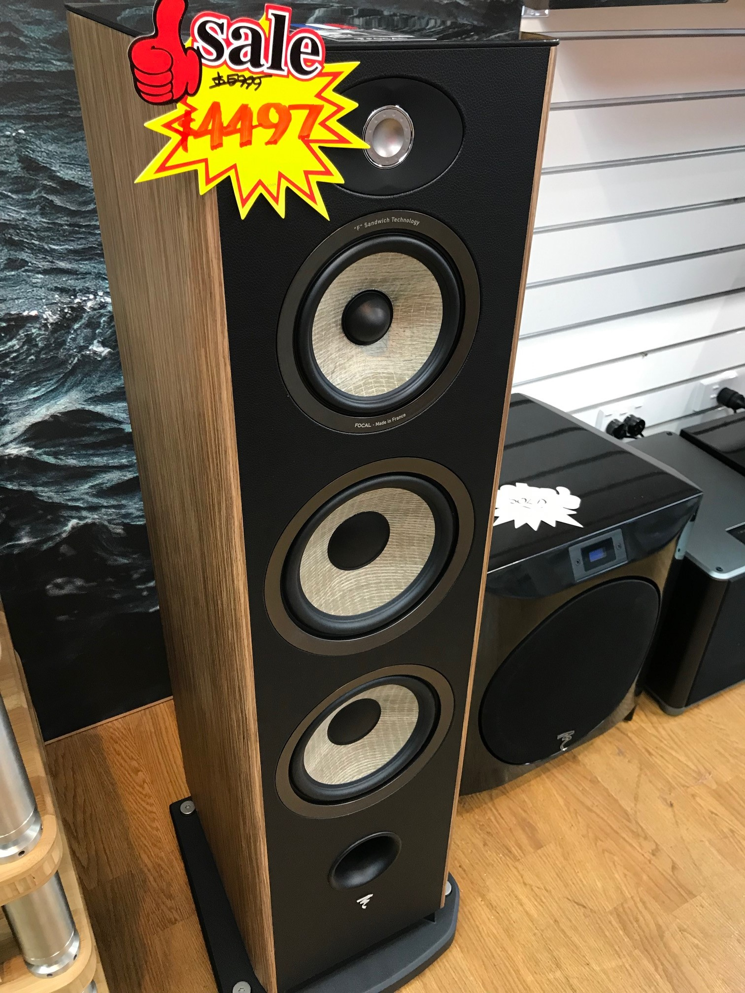 Focal Aria 948 Prime Walnut one only Special $4497