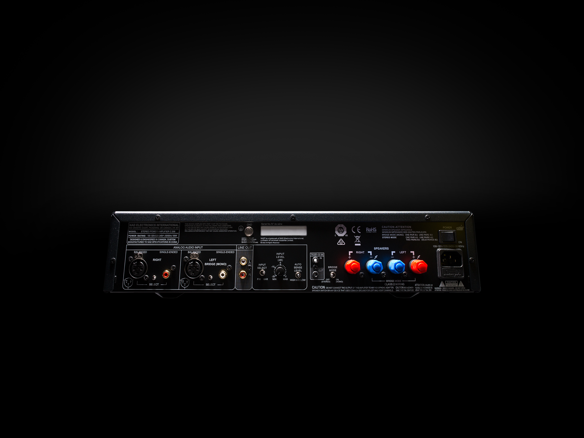 C 268 Stereo Power Amplifier Sound Haus Class Add To Wishlist Loading